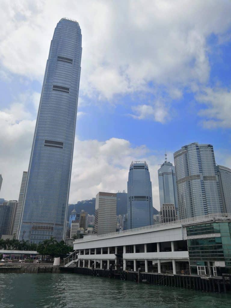 Approaching HK Island