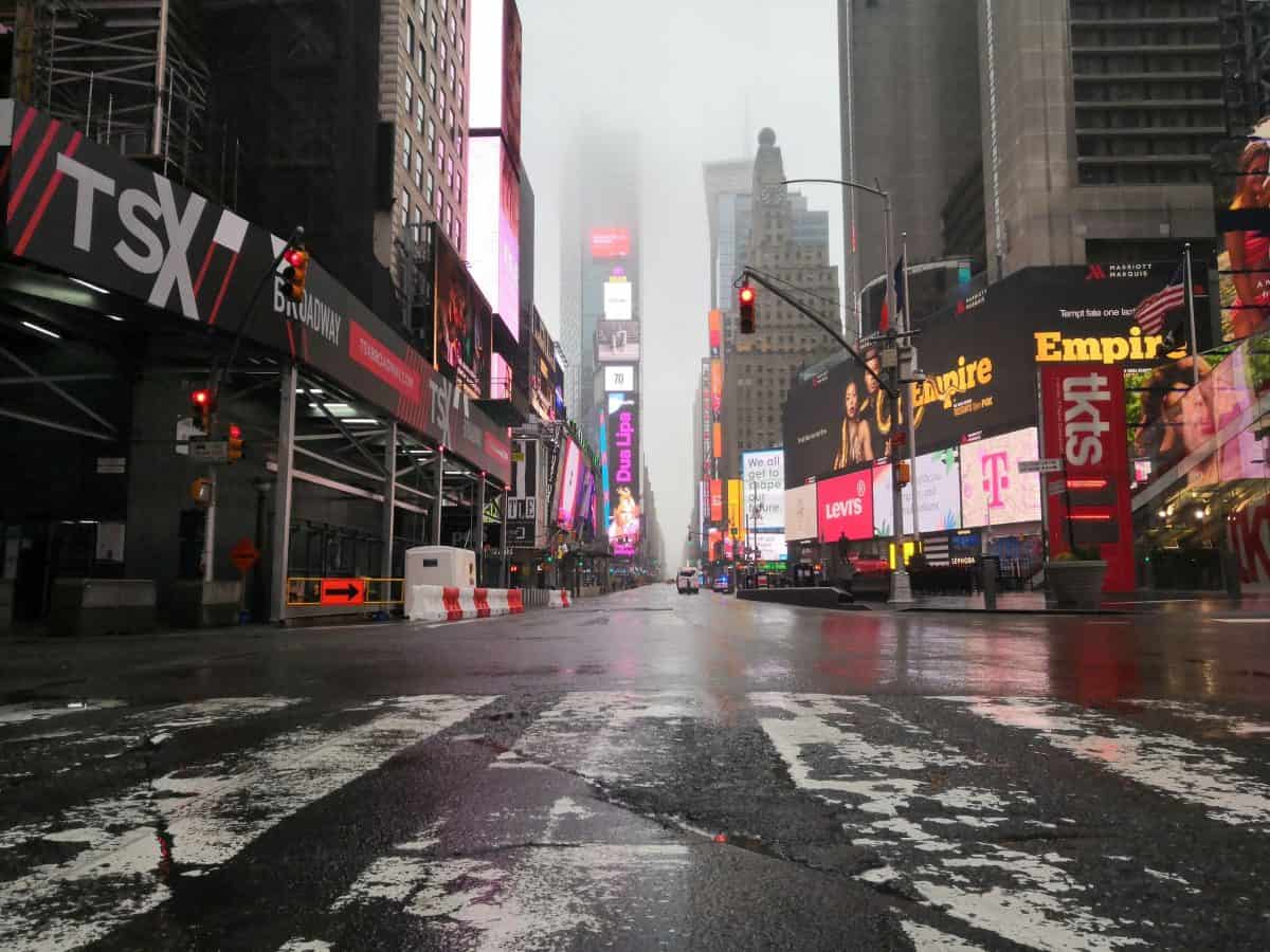 NYC Empty after Coronavirus Epidemic