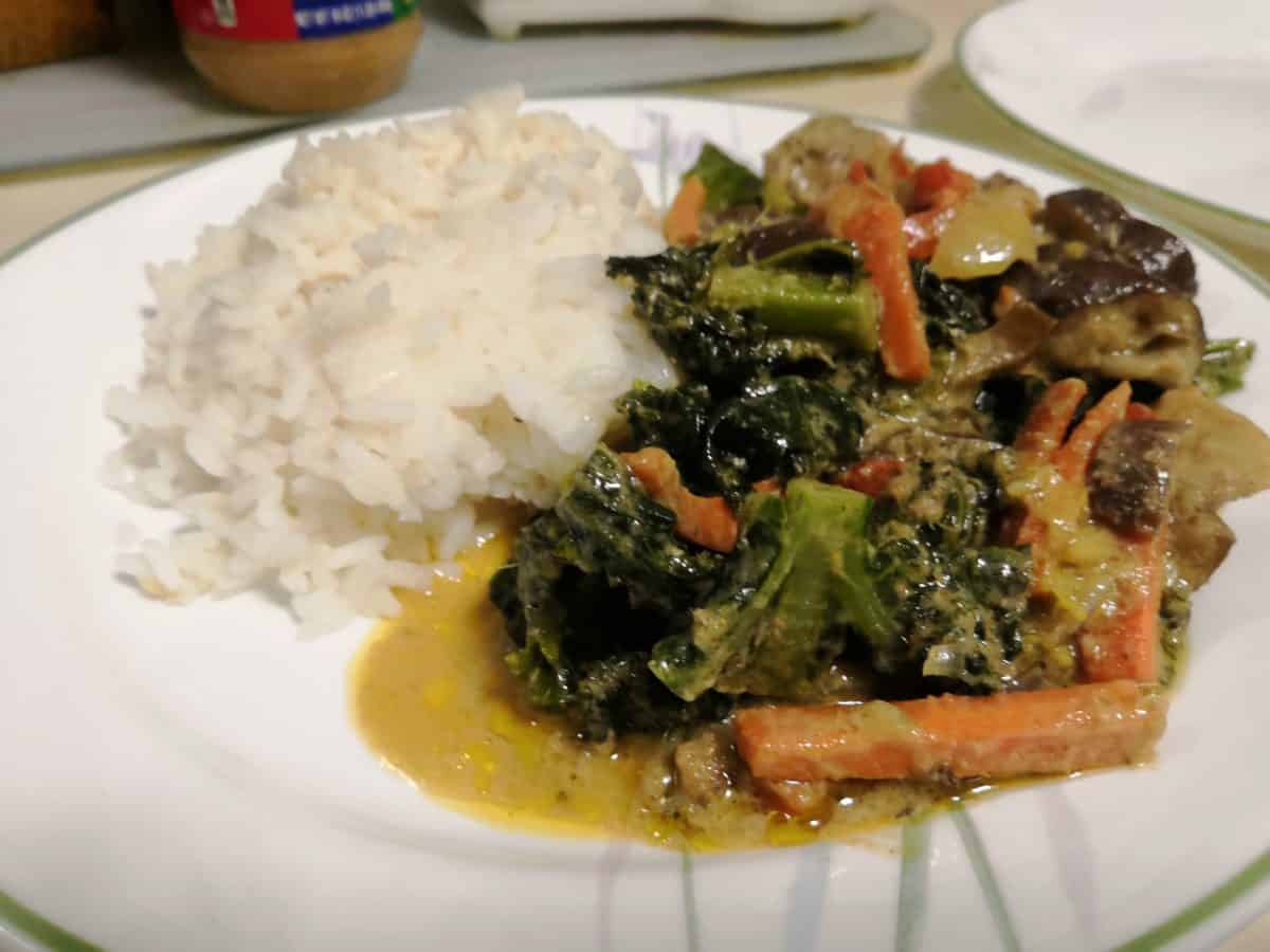 Easy Thai Green Curry in Quarantine Recipe