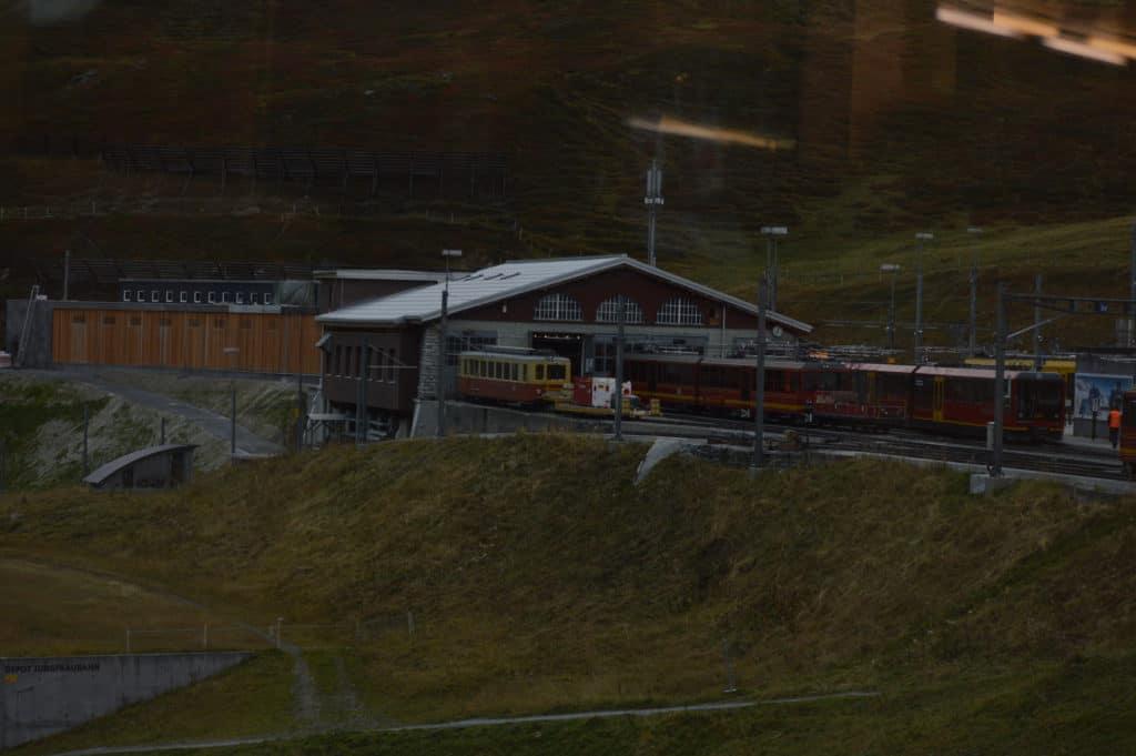 Jungfraubhan Station
