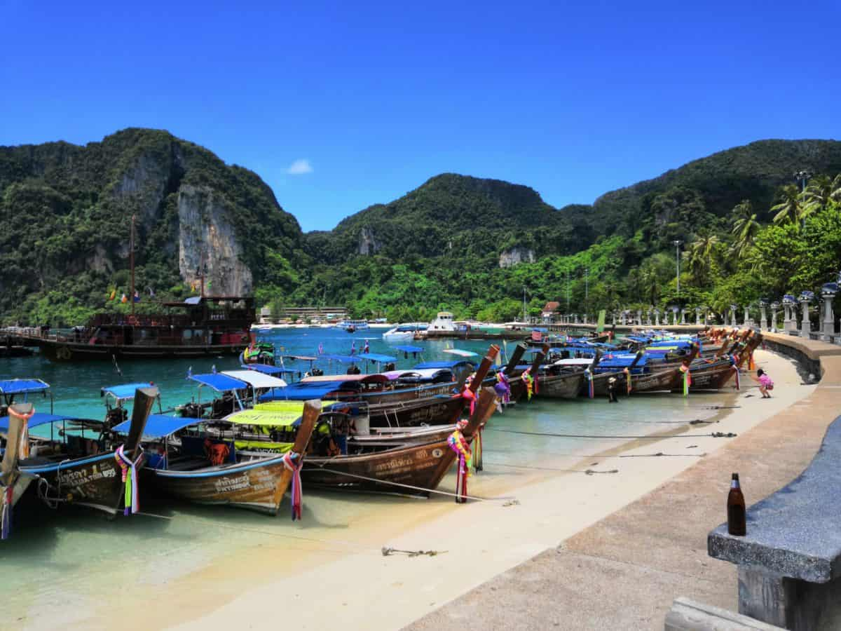 A Day Spent on Phi Phi Island, Thailand